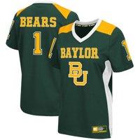 #1 Baylor Bears Colosseum Women's Football Jersey - Green