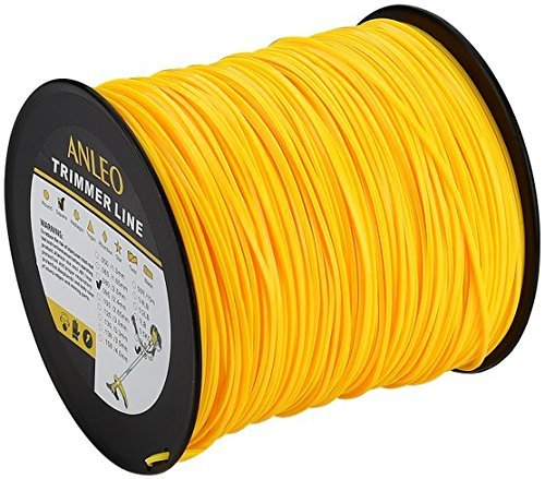 Grass Trimmer Line 5pound 095-Inch-by-896-Foot Spool Home Owner Graden Square Yellow by