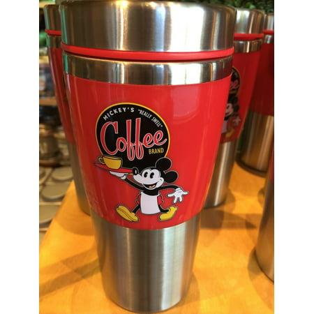 disney parks really swell coffee brand mickey's traveler tumbler stainless mug new - Disney Tumbler