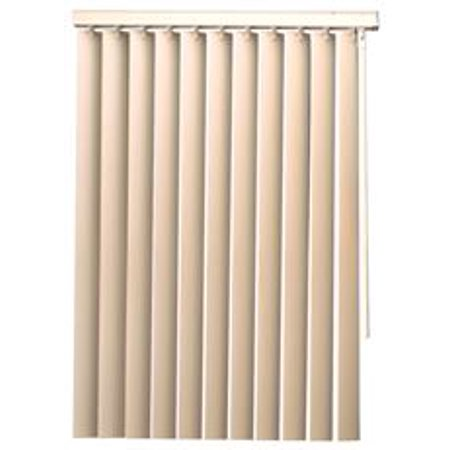 DesignerS Touch 35 Inch Pvc Vertical Blinds White 84X72 In