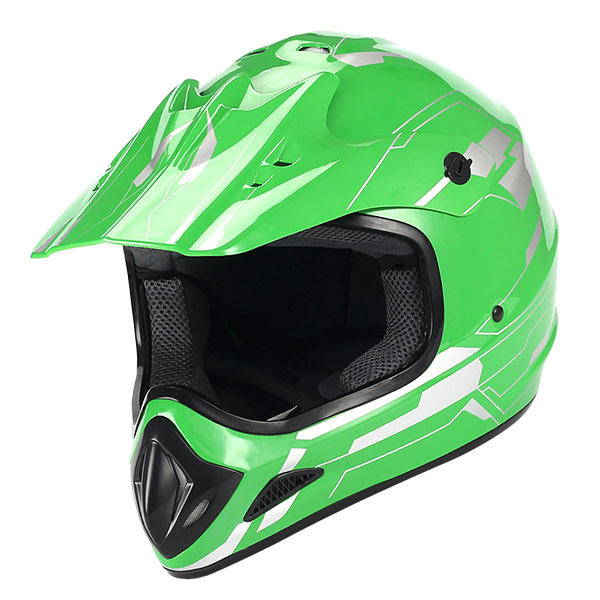 WOW Adult Motocross Helmet HJOA Matt Black