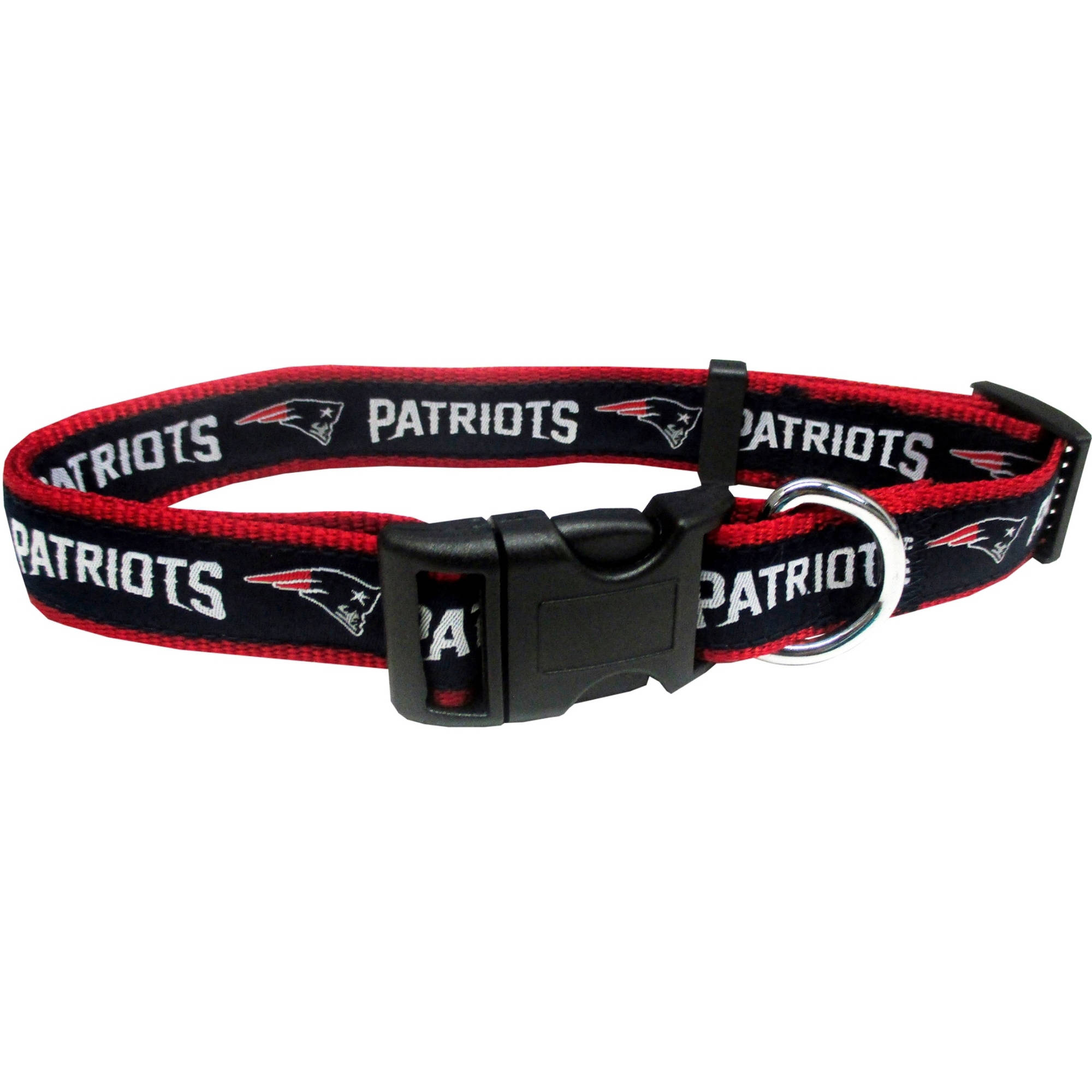 Pets First NFL New England Patriots Pet Collar