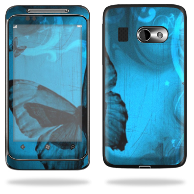 Mightyskins Protective Vinyl Skin Decal Cover for HTC Surround AT&T Cell Phone wrap sticker skins – Dark Butterfly