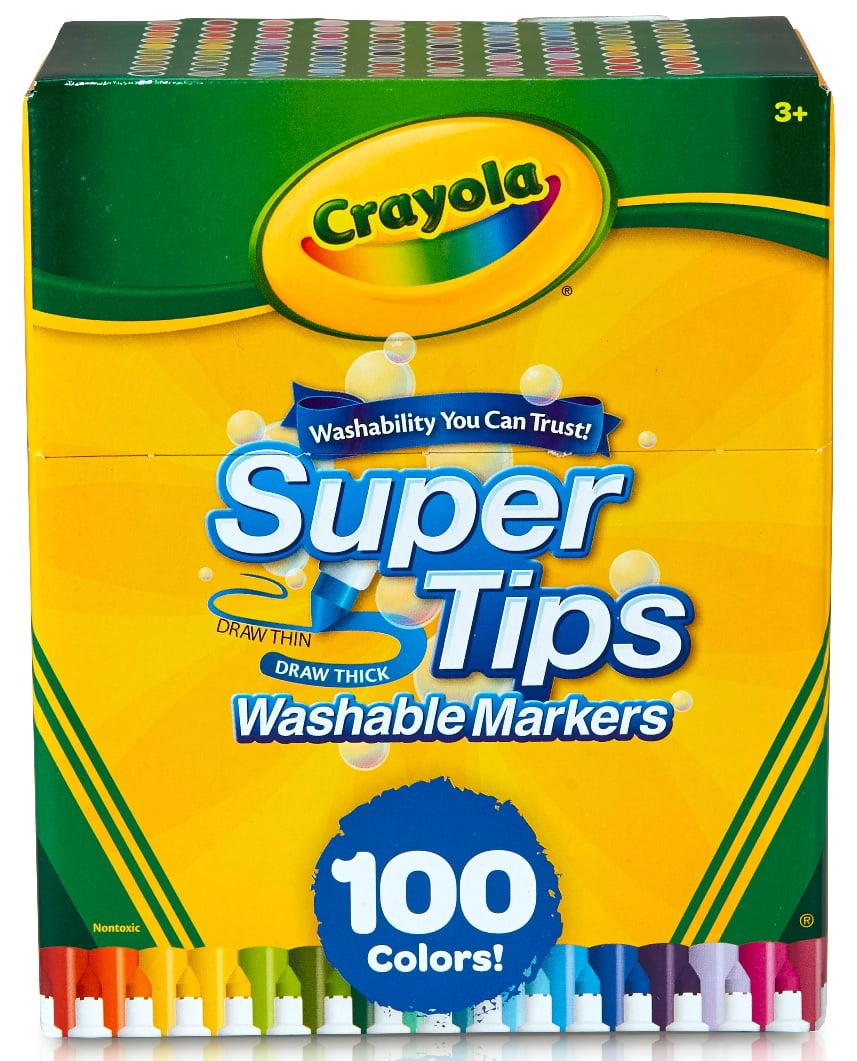 Crayola 100 Count Supertip Markers by Crayola