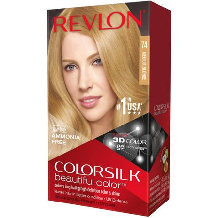 Revlon ColorSilk Beautiful Color™ Hair Color - Medium Blonde