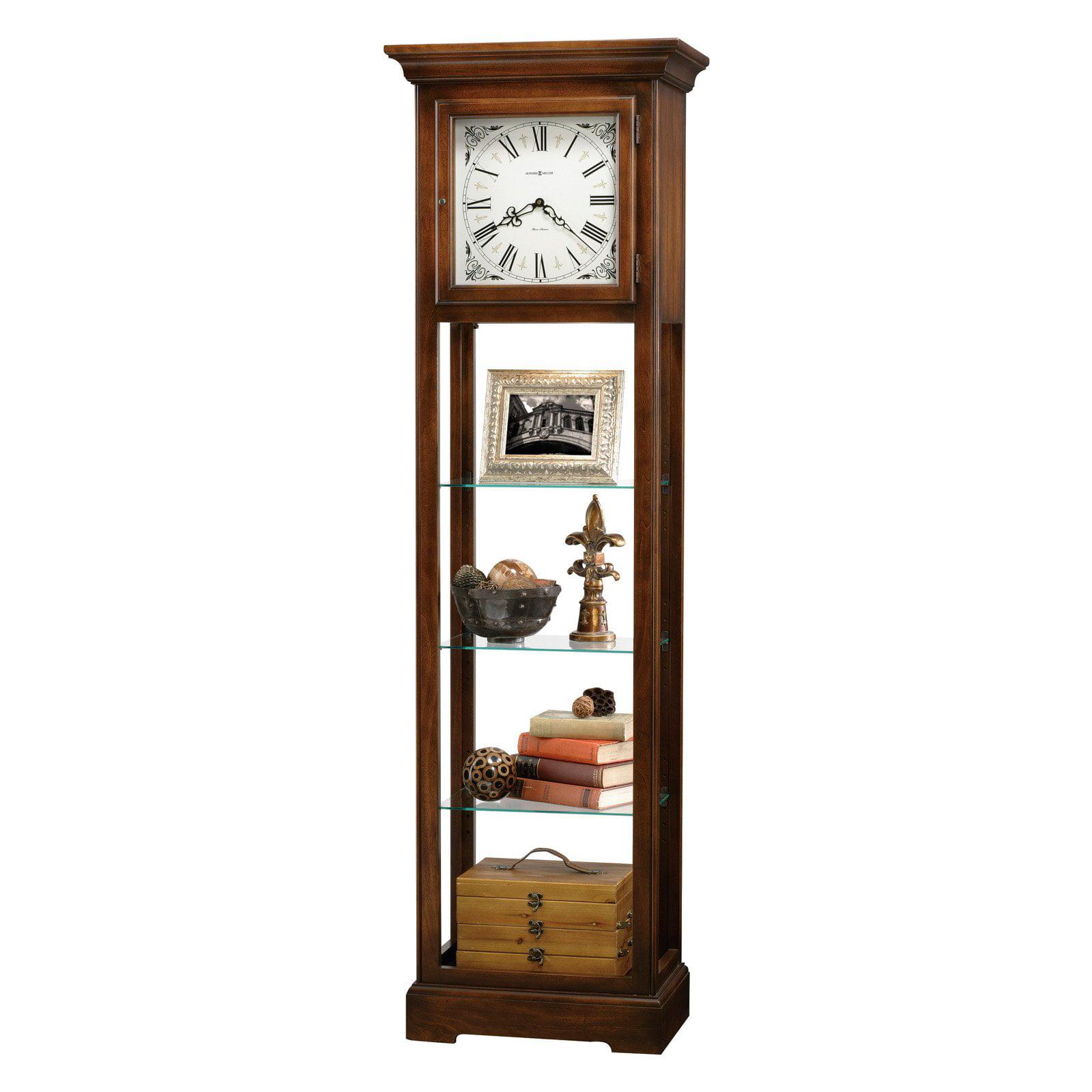 Howard Miller 611-148 Le Rose Curio Grandfather Clock by Howard Miller