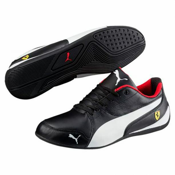 Puma Ferrari Drift Cat 7 Black Sneakers - Walmart.com ...