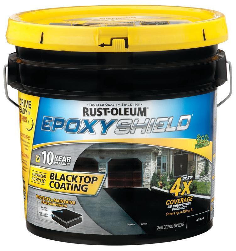 Rust Oleum Epoxy Shield 247471 Solvent Based Blacktop Coa...