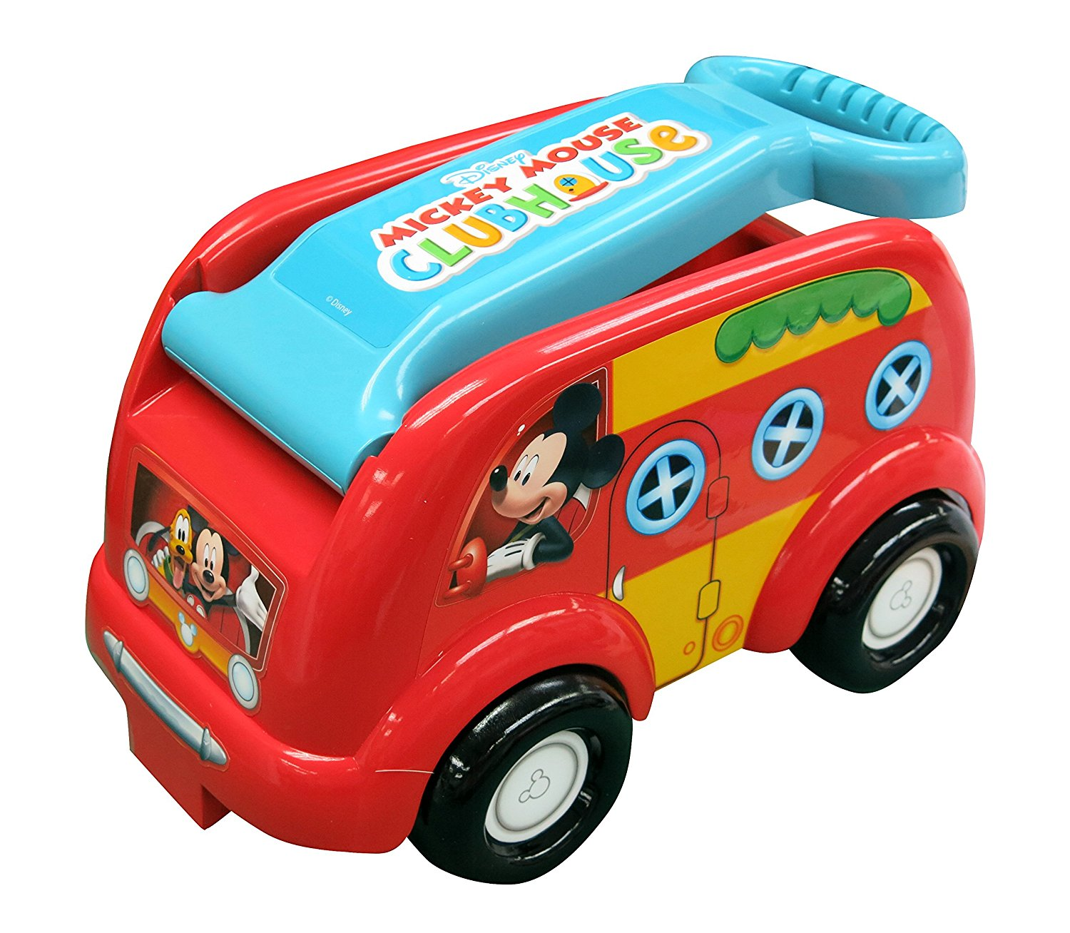 Club House Camping Fun Roll N Go Wagon Ride-On, USA, Brand Mickey Mouse by