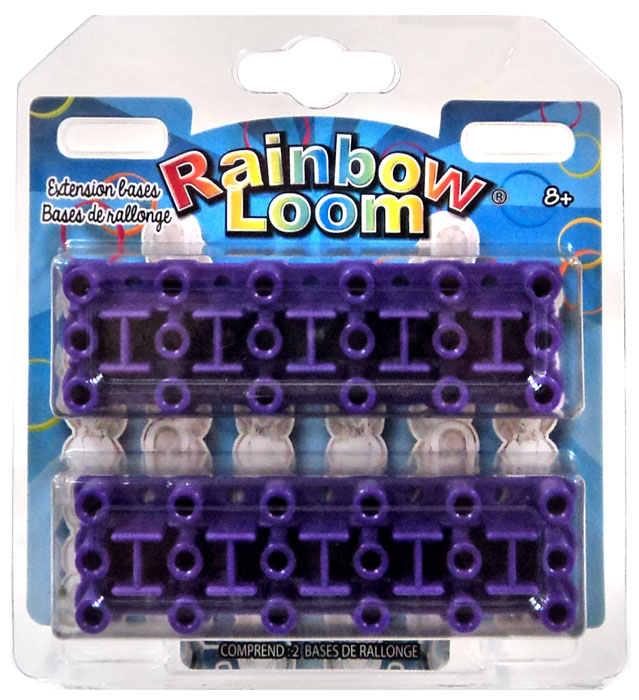 Rainbow Loom 6-Pin Extension Bases Rubber Band Crafting Kit