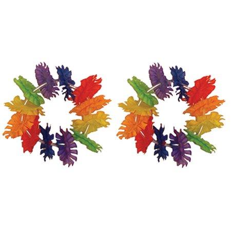 Rainbow Tropical Wrist Lei - Rainbow Lei