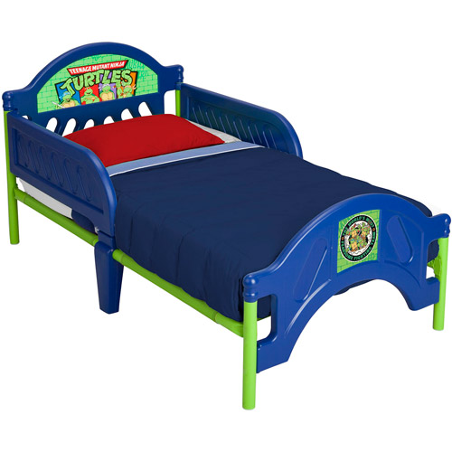 Delta Nickelodeon Teenage Mutant Ninja Turtles Toddler Bed, Blue