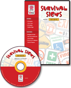 Proed Survival Signs Software, Version 1.1 Single User CD 1 Each by Proed