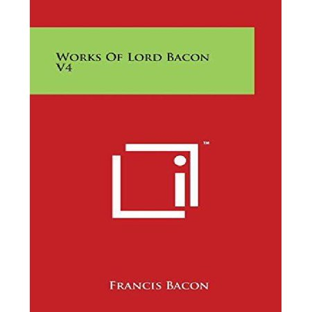 Works of Lord Bacon V4 - image 1 of 1