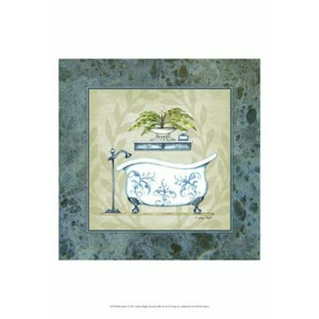 Bath Splash I Poster Print by Sydney Wright (19 x 19)