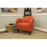 Julian Mid Century Arm Chair - Mango