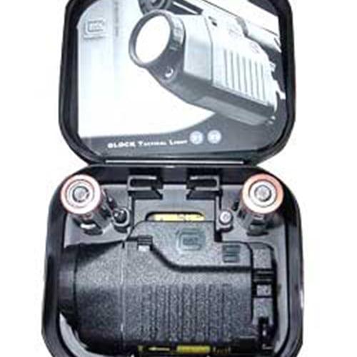Glock OEM Tac Light with laser, All Glocks with Rails, Black, dimmer