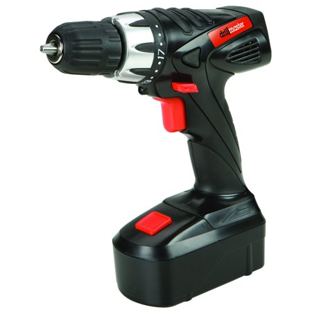 18 Volt 3/8 in. Cordless Drill/Driver With Keyless Chuck, 21 Clutch Settings (18 Volt Battery Drill Master)