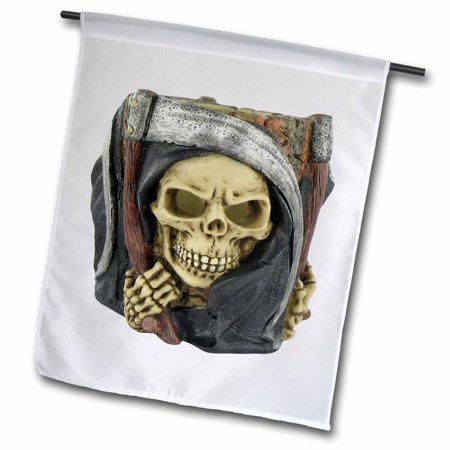 Image of 3dRose Halloween Scary Grim Reaper - Garden Flag, 18 by 27-inch