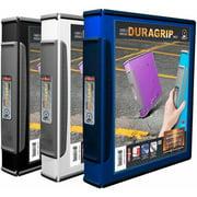Storex DuraGrip View Binders, Case of 6