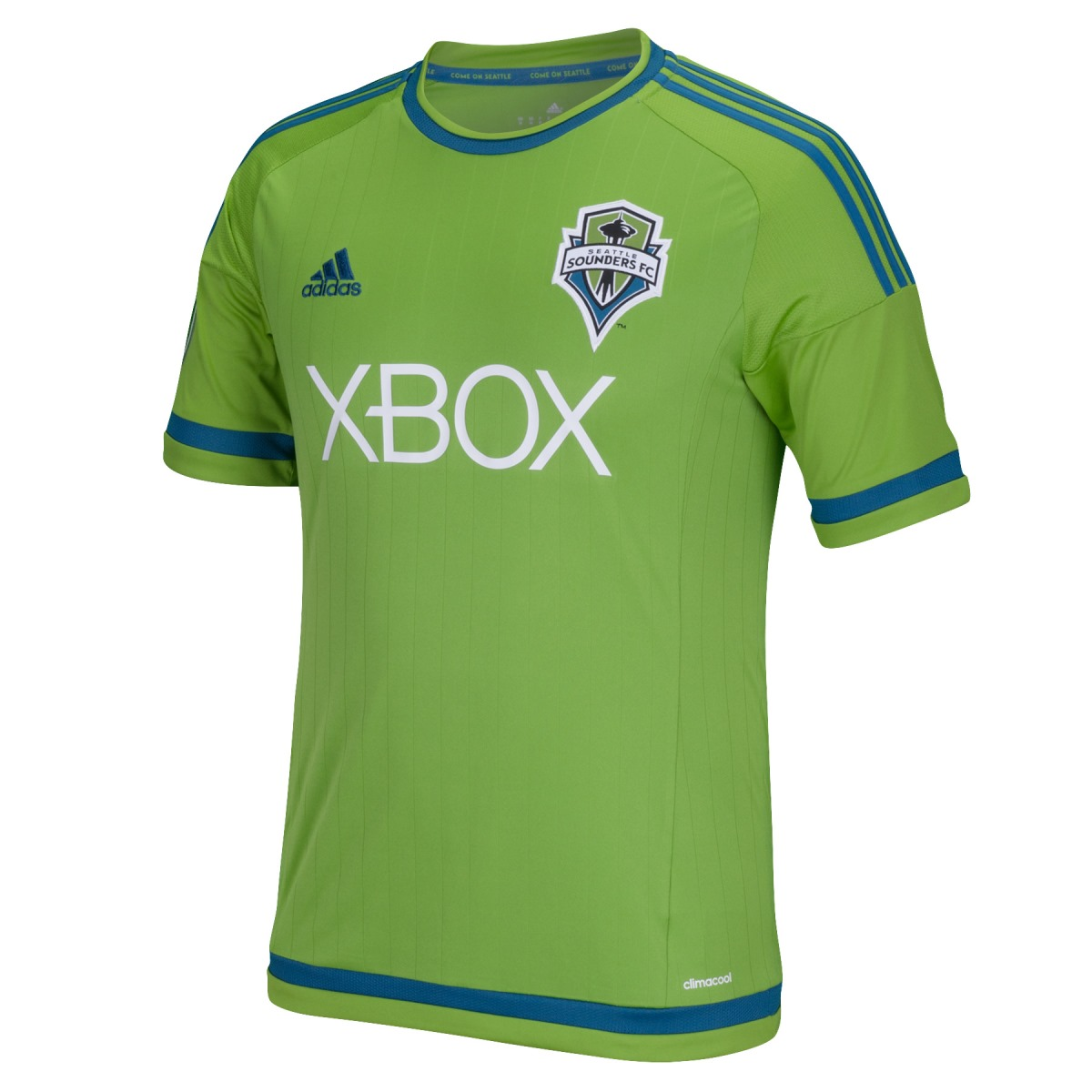 Seattle Sounders Adidas MLS Performance Replica Jersey - Green