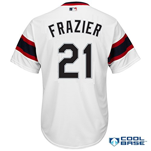 Todd Frazier Chicago White Sox #21 MLB Men's Cool Base Alternate Pullover Jersey (X-Large)