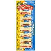 Dingo Mega Mini Rawhide Chew Bone 7 Pack