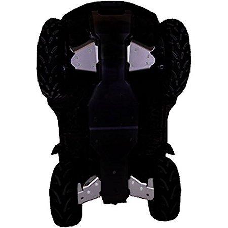 (Suzuki King Quad 450/500/700/750 A-Arm Guards & CV Boot Guard Set Aluminum by Ricochet For 2009, 2010, 2011, 2012, 2013, 2014, 2015, 2016 - SPA659A)