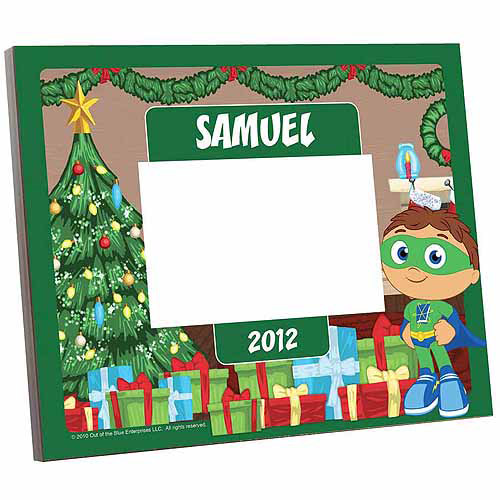 Personalized Super Why! Holiday Picture Frame