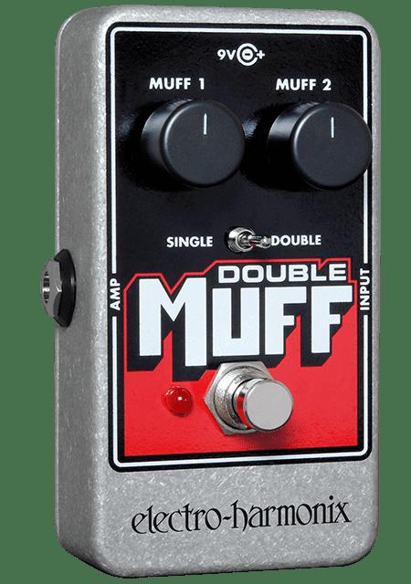Electro Harmonix Nano Double Muff Fuzz and Overdrive Pedal by Electro-Harmonix