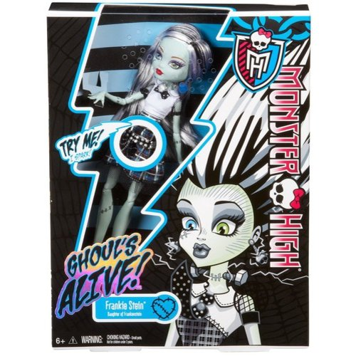 Monster High Ghoul's Alive! Frankie Stein Doll by Mattel