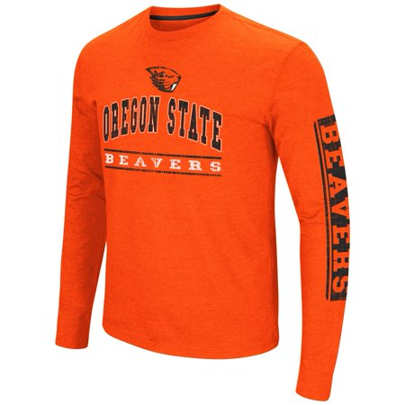 Oregon State Beavers Store - Mens Sky Box Oregon State Beavers Long Sleeve Shirt