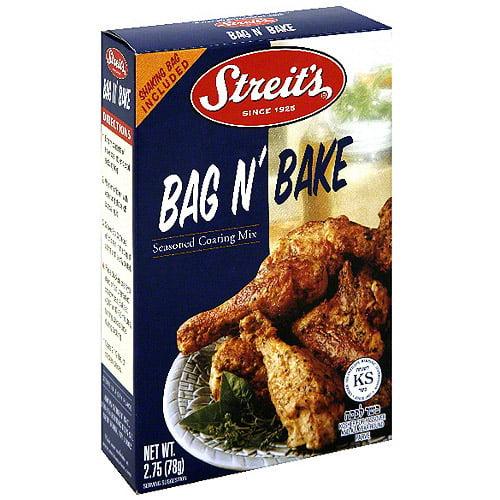 Streit's Bag N' Bake Seasoned Coating Mix, 2.75 oz (Pack of 12)