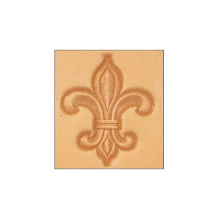 Tandy Leather Craftool 3D Fleur De Lis Stamp 8613 00