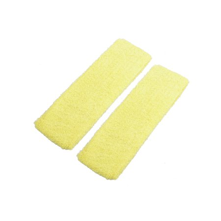 2 Pieces Yellow Stretchy Hairstyle Binder Hair Band for Women](Pink Ladies Hairstyle)