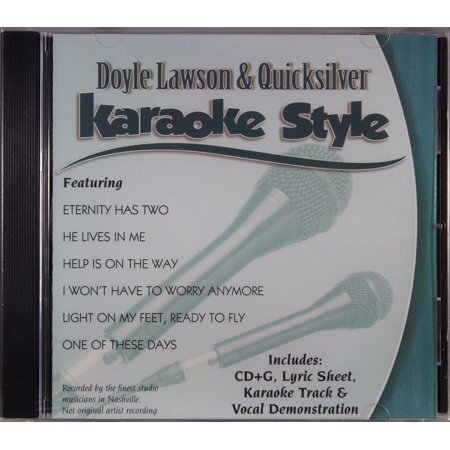 Doyle Lawson and Quicksilver Volume 1 Daywind Christian Karaoke Style NEW CD+G 6 Songs - Halloween Songs 00