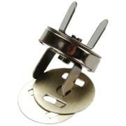 Sunbelt Magnetic Purse Snap 18mm 1/Pkg-Black Nickel