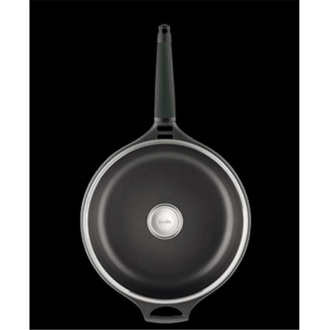 Fundix F11-TA30 12 in. Saute Pan with Removable Handle - Black