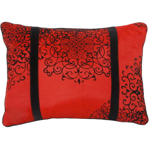 Better Homes and Gardens Amaryllis Collection Oblong Decorative Pillow