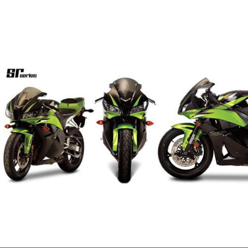 Zero Gravity SR Series Windscreen Light Smoke Fits 01-06 Honda CBR600F4i