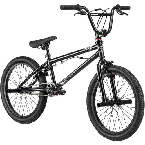 "20"" Mongoose Mode 180 Boys' Freestyle Bike, Black"
