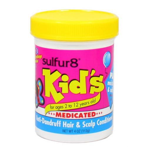 Sulfur8 Kid's Medicated Anti-Dandruff Hair & Scalp Conditioner, 4 oz