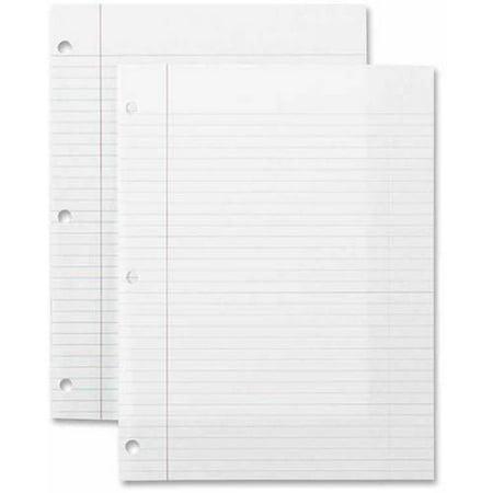 - Sparco Standard White Filler Paper