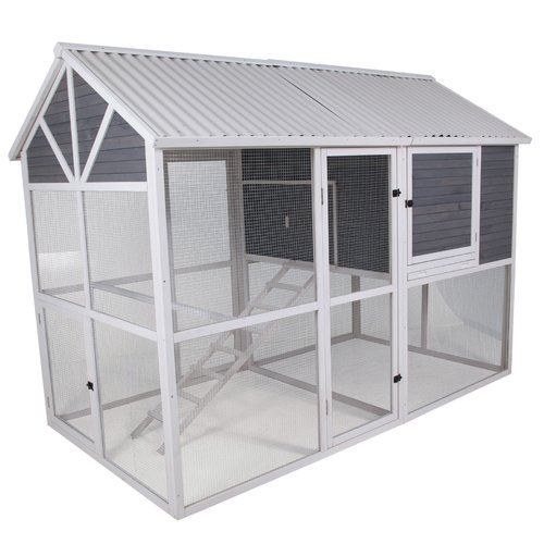 precision pet products garden walkin chicken coop with nesting box and roosting bar - Precision Pet Products