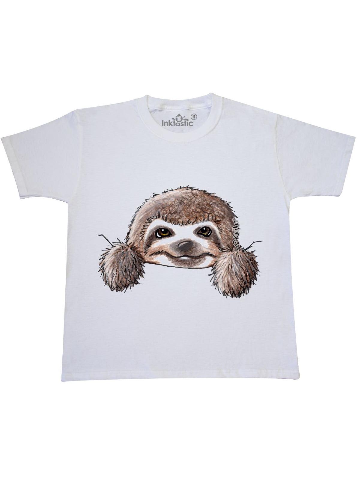 KiniArt Sloth Youth T-Shirt - KiniArt