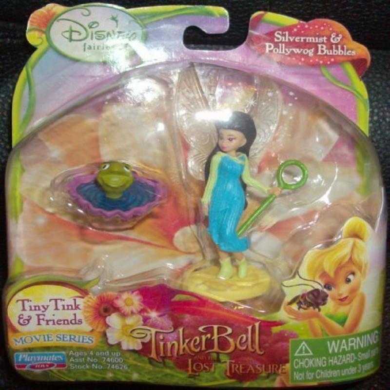 Disney Fairies Tiny Tink & Friends Silvermist & Pollywog Bubbles
