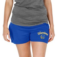 Golden State Warriors Concepts Sport Women's Knit Shorts - Royal