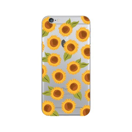 competitive price 3f684 d3252 OTM Prints Clear Phone Case, Sunflowers Yellow - iPhone 6 6s 7 7s -  Walmart.com