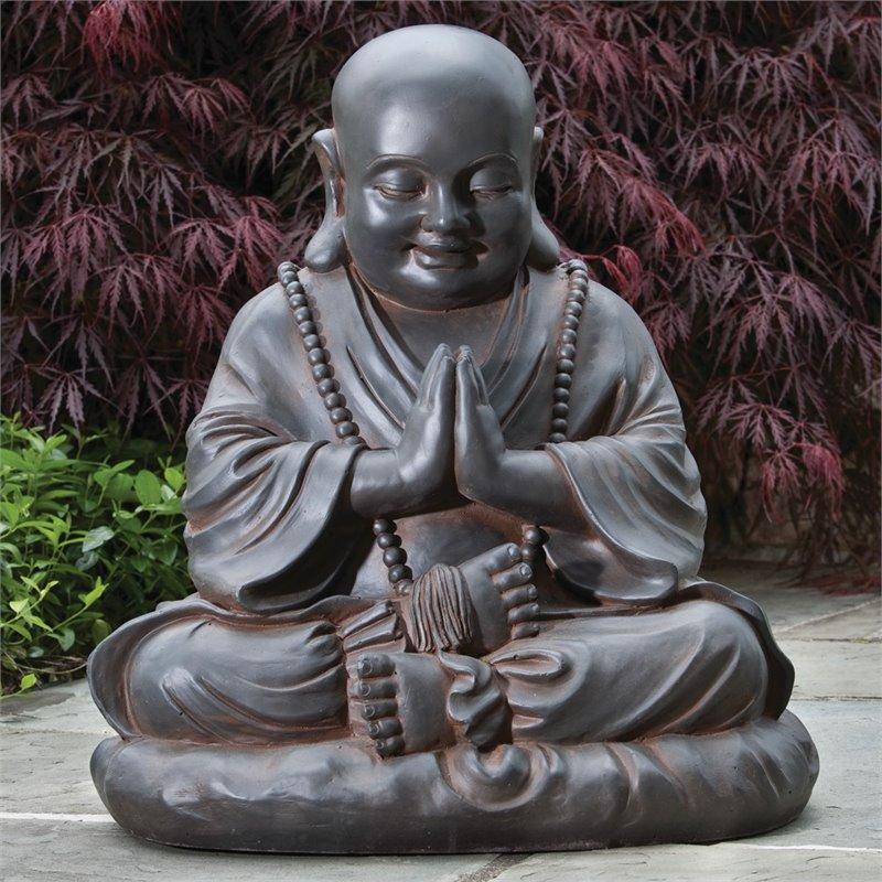 Alfresco Home Seated Buddha Garden Statue
