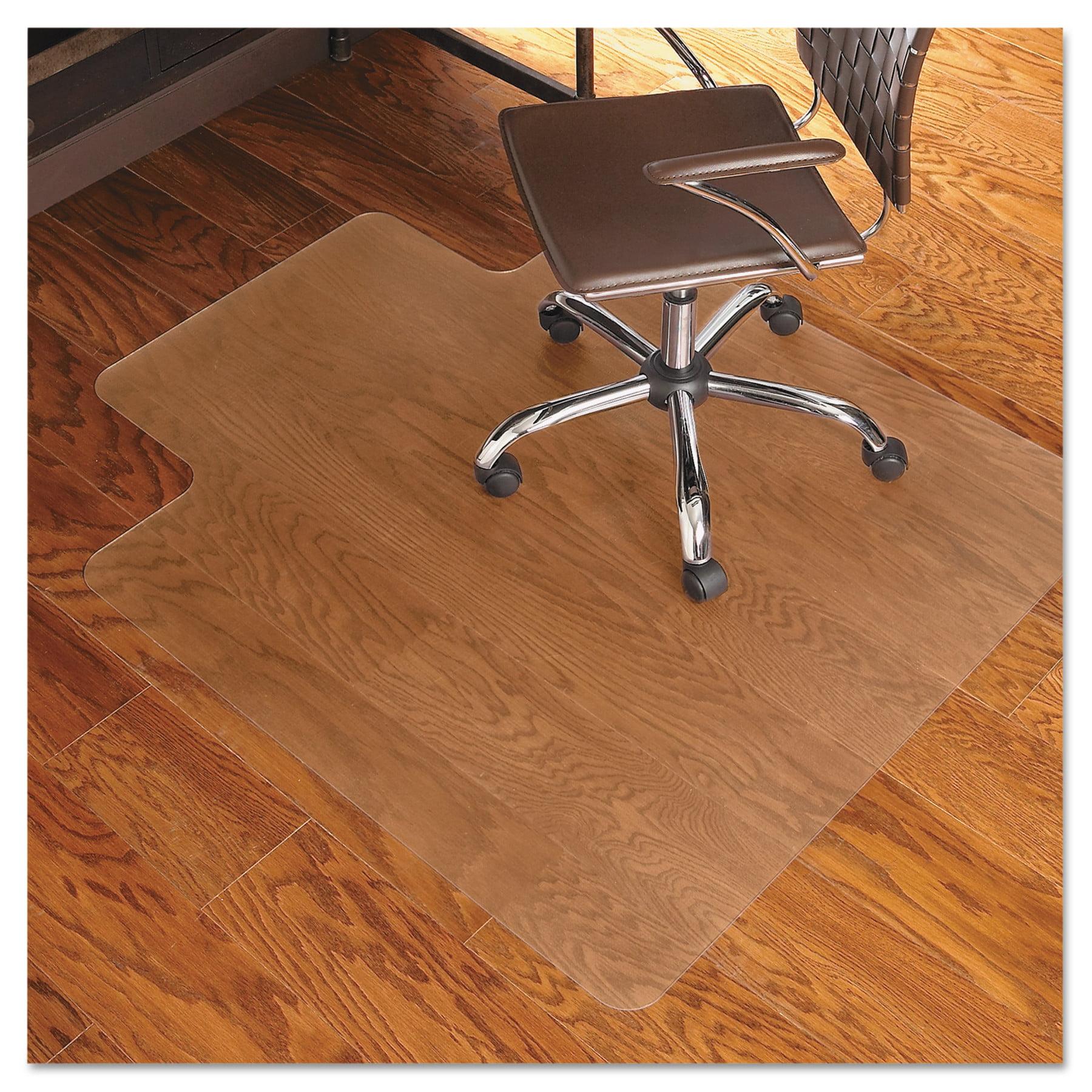 ES Robbins 45x53 Lip Chair Mat Multi Task Series for Hard Floors